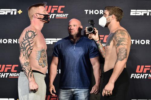 Один из боев на UFC Fight Night 173 отменен из-за коронавируса