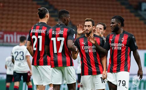 Милан – Кальяри – 3:0. Видео голов и обзор матча
