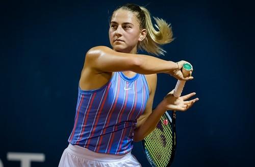 ФОТО. Как Марта Костюк выиграла первый матч после возобновления сезона