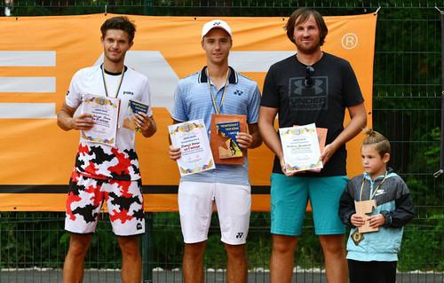 Визначилися переможці чемпіонату України з тенісу