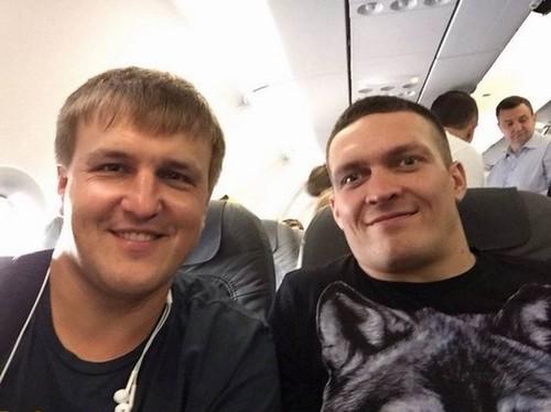 Красюк рассказал, сколько боев осталось провести Усику с K2 Promotions