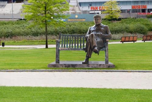 ФОТО. Шахтер передумал открывать памятник Луческу в честь 75-летия