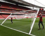 Арсенал планирует возобновить тренировки 24 марта