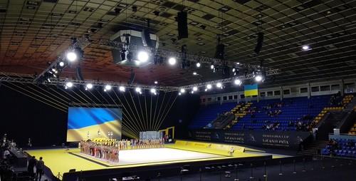 В киевском Дворце спорта отменили три больших турнира по гимнастике