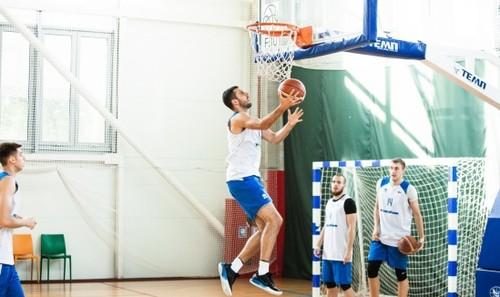 Сборная Украины по баскетболу начала сбор в Киеве