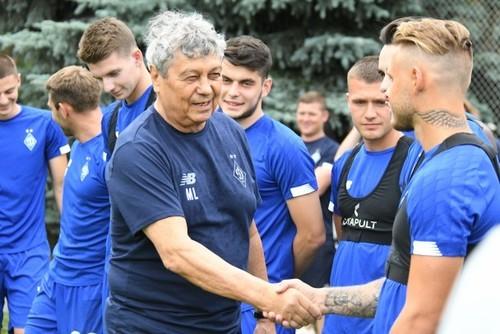 Стало известно, с кем Динамо сыграет первый матч при Луческу