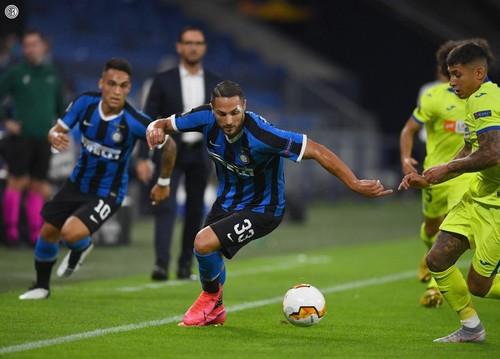 Интер уверенно обыграл Хетафе и вышел в четвертьфинал Лиги Европы