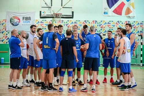 ФОТО. Чоловіча збірна України з баскетболу провела відкрите тренування