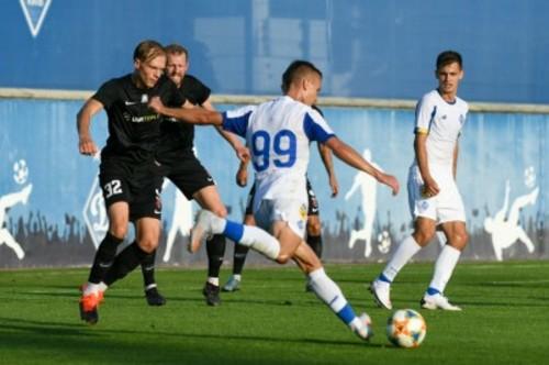 ФОТО. Динамо покуражилось в первом матче Луческу