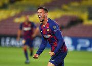 ВИДЕО. Лангле забил свой первый гол в Лиге чемпионов за Барселону