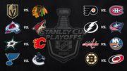 Стали известны пары первого раунда плей-офф НХЛ