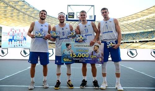 Баскетбол на НСК. Сборные Украины победили в 5-м туре Суперлиги 3х3
