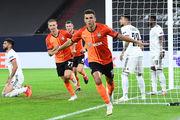 Донецкий «Шахтер» в третий раз в истории вышел в полуфинал Лиги Европы