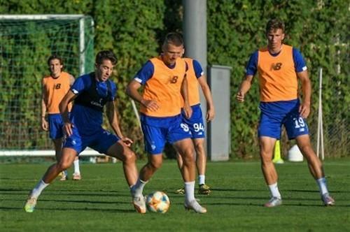 Динамо продовжує підготовку до матчу з Десною