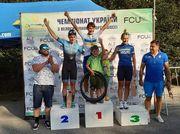 Кононенко оформил победный дубль на чемпионате Украины по велоспорту