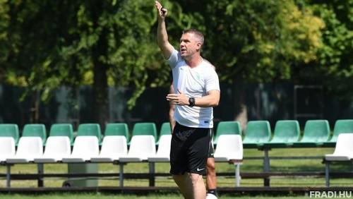 РЕБРОВ: «Буде ще складніше, але Ференцварош націлений на третій титул»