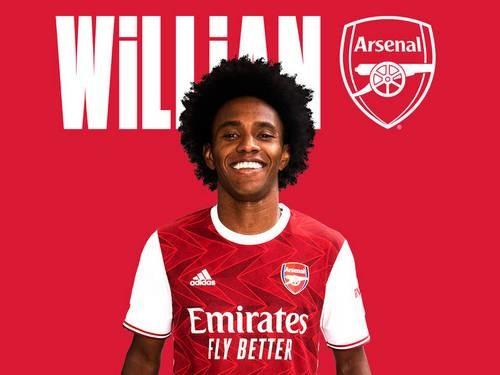 ОФІЦІЙНО: Вілліан — гравець Арсенала