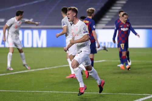 ВІДЕО. Надрезультативний матч. Кімміх забив 5-й гол у ворота Барселони