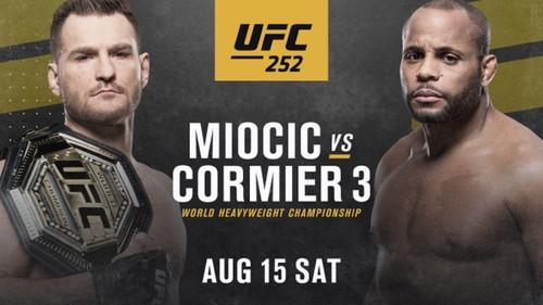 Где смотреть онлайн бой UFC 252: Стипе Миочич – Дэниел Кормье