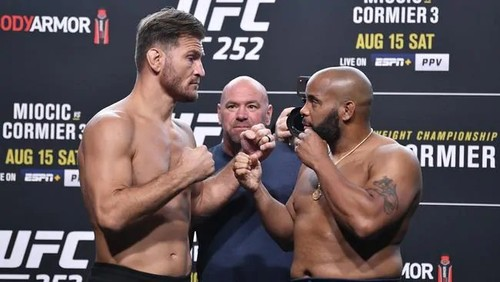 UFC 252: Стипе Миочич – Дэниел Кормье. Смотреть онлайн. LIVE трансляция