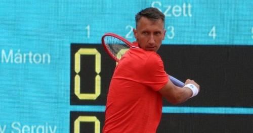 Стаховский уступил в первом раунде турнира в Праге