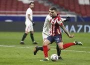 Атлетико переиграл Севилью и упрочил лидерство в Ла Лиге