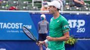 Хуркач выиграл турнир ATP, не встретив ни одного соперника из топ-100
