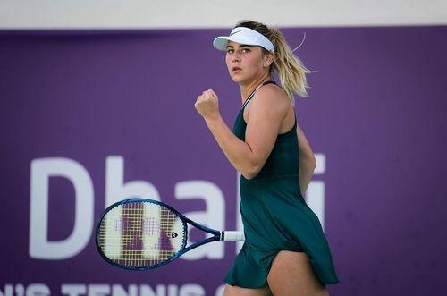 ФОТО. Марта Костюк в купальнике отдыхает после турнира в Абу-Даби