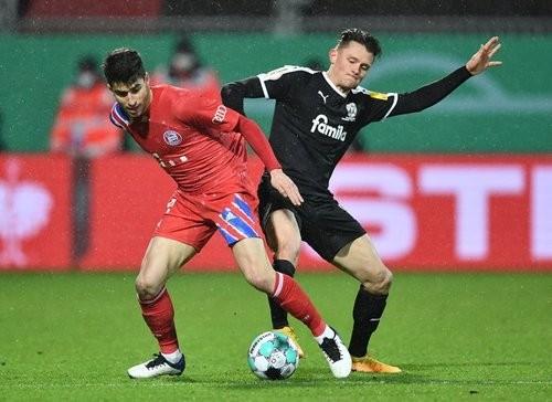 Хольштайн — Бавария — 2:2 (6:5 по пенальти). Видео голов и обзор матча