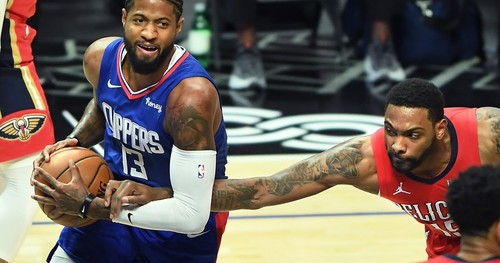 НБА. Лейкерс разгромили Оклахому, Клипперс справились с Нью-Орлеаном