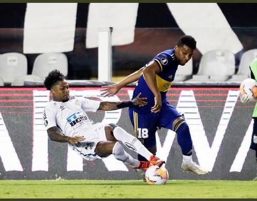 Сантос – Бока Хуниорс – 3:0. Видео голов и обзор матча