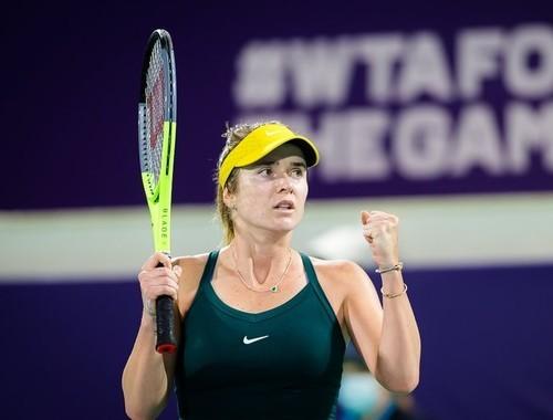 Свитолина заявилась на турнир в Дубае, который пройдет в марте