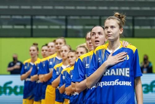 Известен состав сборной Украины на матчи отбора на женский Евробаскет