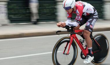 Украинец Пономарь установил еще один рекорд Джиро д'Италия