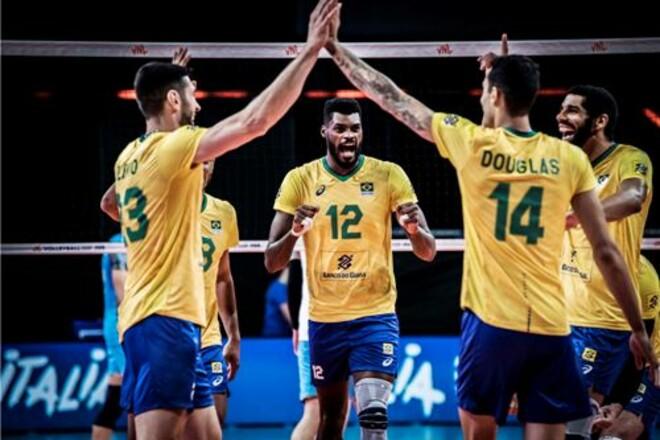 В мужской волейбольной Лиге Наций сыграны матчи первого тура