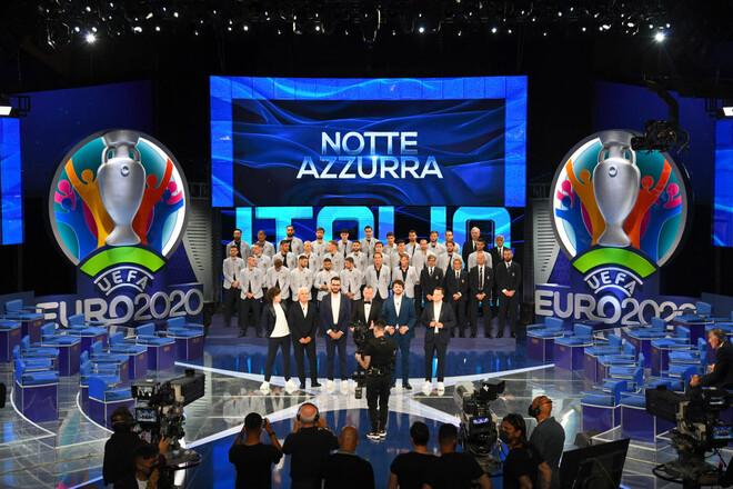 ТВ-презентация. В Италии назвали окончательную заявку сборной на Евро-2020