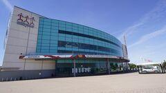 Игнор в Риге. На матч Россия – Беларусь продали 2 билета, пришел 1 зритель