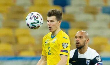 Соболь не тренируется в общей группе сборной Украины