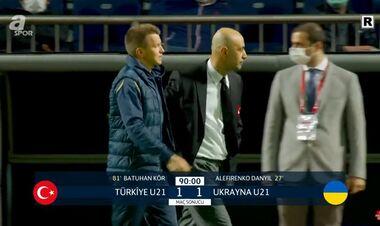 Команда Ротаня випустила перемогу. Україна U-21 зіграла внічию в Туреччині
