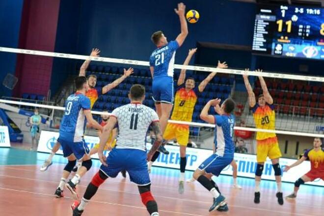 Словакия выиграла у Румынии в пяти партиях в Золотой Евролиге