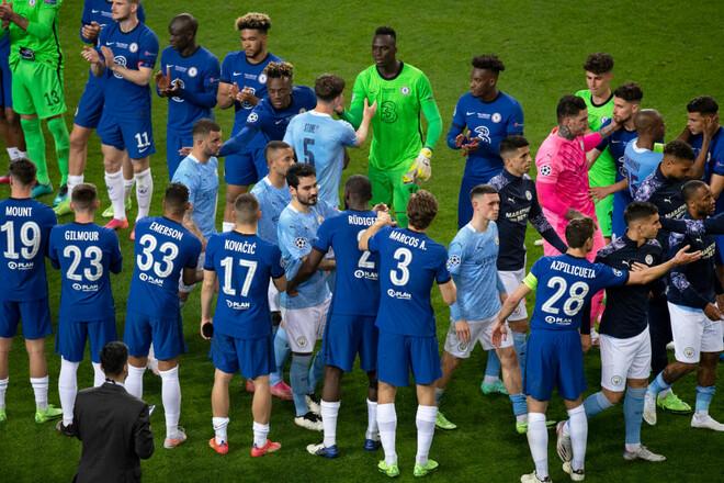 Наибольшее представительство на EURO-2020 имеют Манчестер Сити и Челси