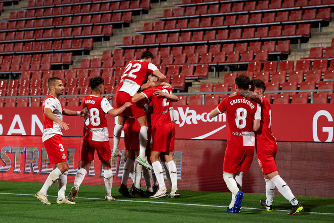 Жирона – Альмерия – 3:0. Видео голов и обзор матча