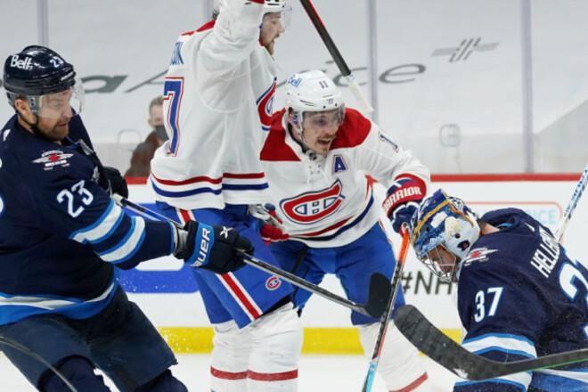 НХЛ. Монреаль обыграл Виннипег, победа Колорадо в овертайме