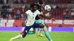 Англія – Австрія – 1:0. Переможний м'яч Букайо Сака. Відео голу і огляд гри