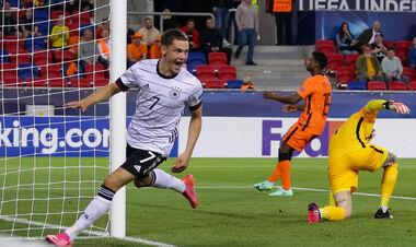 На Арене Шошто. Германия обыграла Нидерланды и вышла в финал Евро U-21