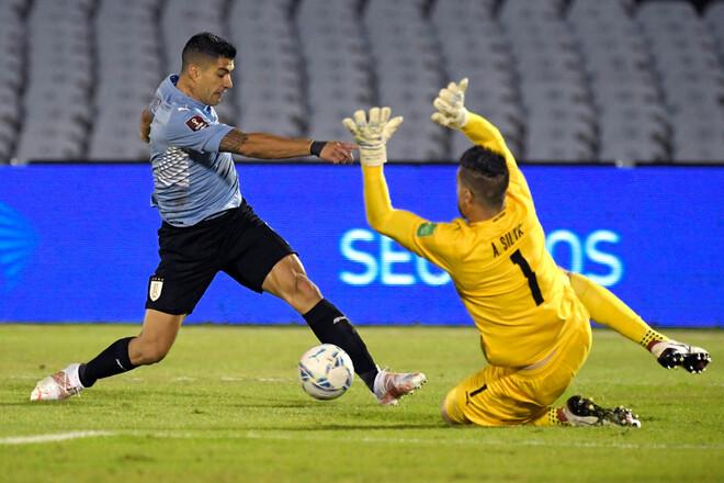 Уругвай и Парагвай сыграли вничью в отборе на ЧМ-2022
