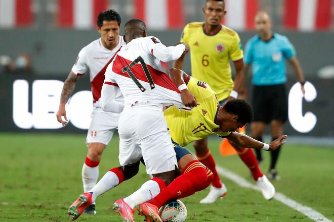 Перу – Колумбія – 0:3. Відео голів та огляд матчу