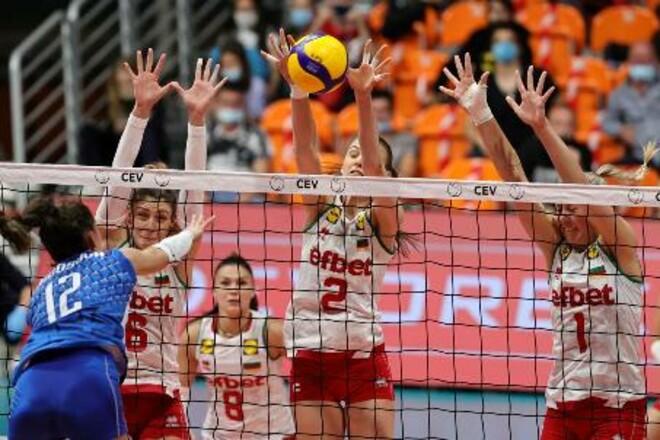 Женская сборная Болгарии заняла первое место в группе с Украиной