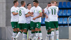 Ирландия и Швейцария разгромно выиграли товарищеские матчи