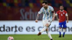 На гол Месси ответил Алексис Санчес. Аргентина и Чили провели яркий матч